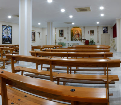 Ecumenical rooms and chapels